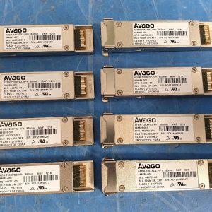 8x HP 444689-001 AVAGO 10GBASE-SR 850nm XFP Transceiver