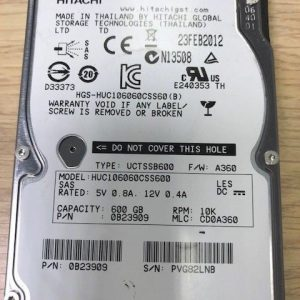 "HUC109060CSS600 0B23909 600Gb 10K 2.5"" SAS Hard Drive Fully tested & wiped"