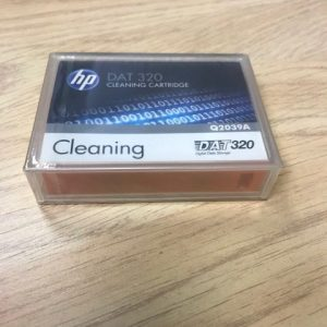 Q2039A HP New DAT320 Cleaning Tape Inc VAT & Delivery