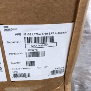 AK377B NEW HP Storageworks 1/8G2 8 Slot Autoloader with Ultrium1760 SAS